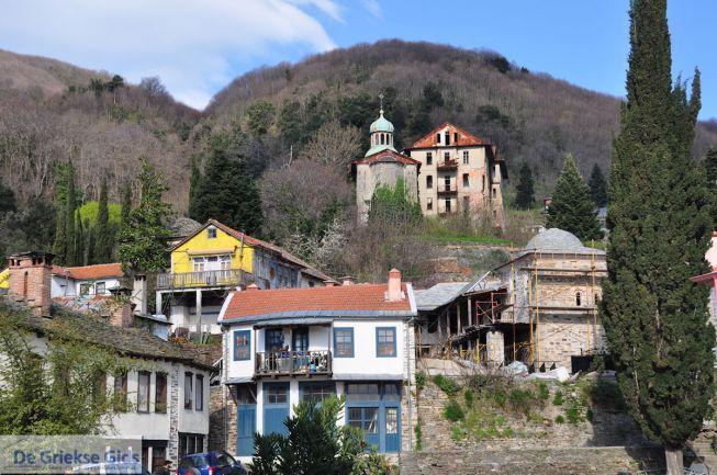 Karyes, de hoofdstad van Mount Athos